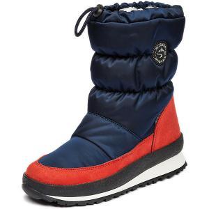 Сапоги Alaska Originale. Цвет: синий/красный
