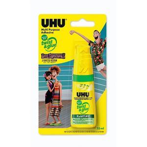 Клей универсальный  Twist & glue Монстры на каникулах 3, 35 мл UHU. Цвет: разноцветный