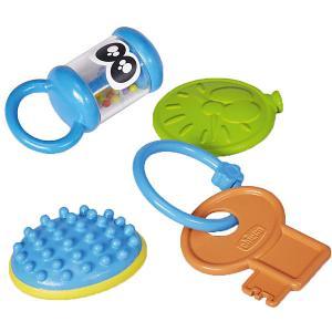 Набор игрушек Chicco Baby senses. Цвет: разноцветный