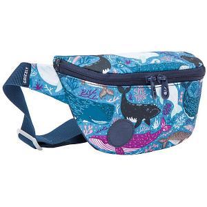 Поясная сумка  PS-022-21 №1 Киты, малая Grizzly