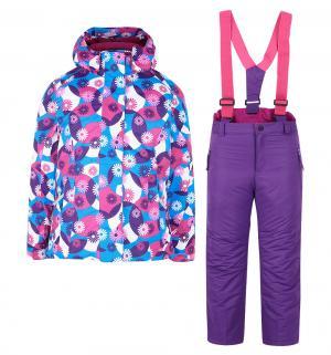 Комплект куртка/полукомбинезон , цвет: розовый Fobs