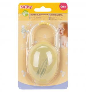 Контейнер , цвет: желтый Nuby
