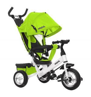 Трехколесный велосипед  Comfort 10x8 EVA, цвет: зеленый Moby Kids