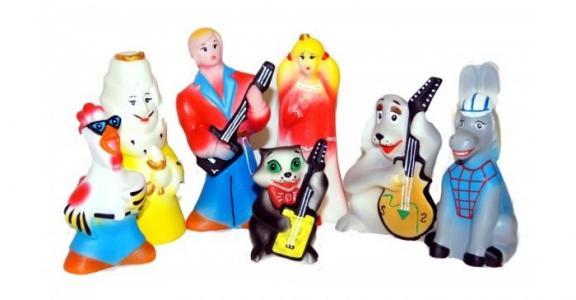 Игрушки Бременские уличные музыканты (7 персонажей) Кудесники