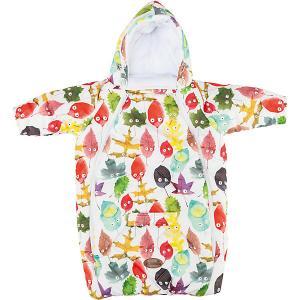 Конверт для новорожденного с рукавами , цвет листики Mammie. Цвет: бежевый