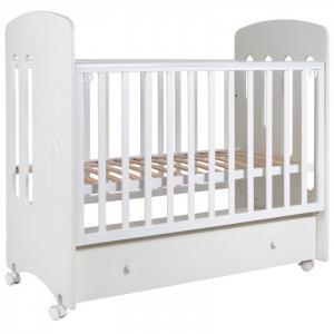 Детская кроватка  Каролина (колесо) Топотушки