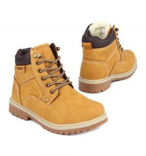 Ботинки , цвет: желтый Twins