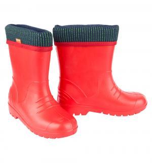 Резиновые сапоги , цвет: красный Demar