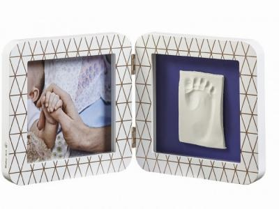 Рамочка двойная Медный орнамент Baby Art