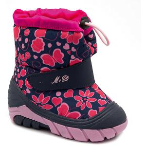 Сноубутсы М+Д. Цвет: розовый