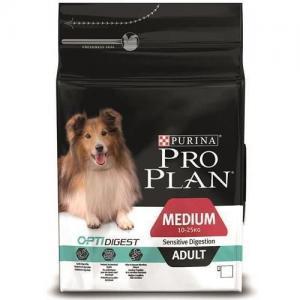 Сухой корм  Optidigest Sensitive Digestion для взрослых собак средних пород с чувствительным пищеварением, ягненок, 7кг Pro Plan