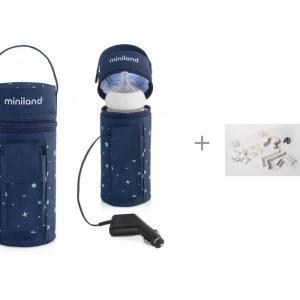 Нагреватель бутылочек Warmy Travel с набором Baby Safety Калейдоскоп Безопасности Miniland