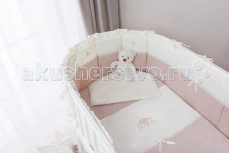 Комплект в кроватку  Эстель Oval (7 предметов) Perina