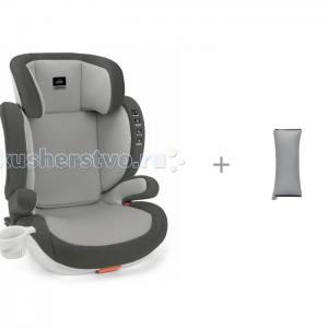 Автокресло  Quantico с накладкой на ремень безопасности ROXY-KIDS CAM