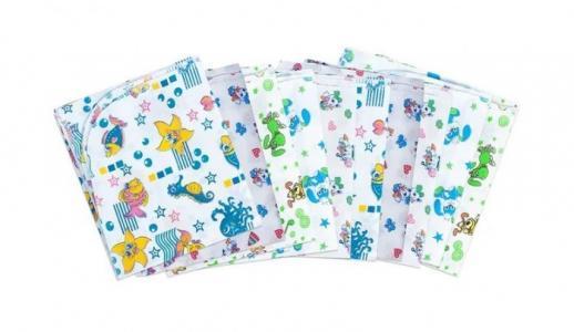 Пеленка  для новорожденных ситцевая Ассорти 10 шт. Чудо-чадо