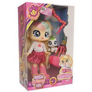 Кукла  Best Furry Friends Big Bestie, Angelina ABtoys. Цвет: разноцветный