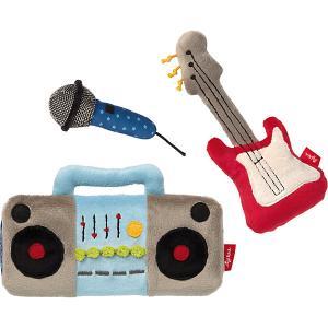 Мягкая игрушка , набор Музыка, коллекция Папа & Я, 20 см Sigikid