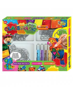 Игровой набор для рисования витражей №2 Angel Clay