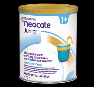 Молочная смесь Nutricia Neocate Junior с 12 месяцев, 400 г Nutridrink