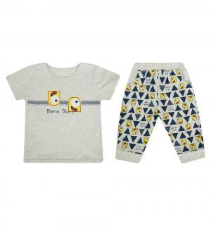 Комплект футболка/бриджи , цвет: мультиколор Bony Kids