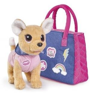 Мягкая игрушка  Chi-Chi Love Городская мода с сумочкой и стикерами 20 см Simba