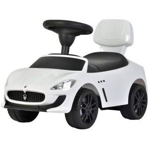 Машина-каталка  Maserati, белая Bugati