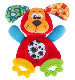 Мягкая игрушка-прорезыватель  Щенок 18 см Playgro