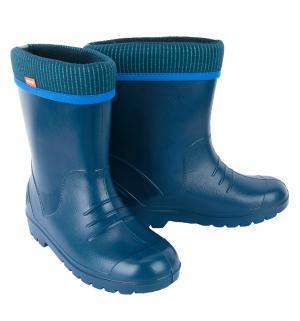 Резиновые сапоги  Dino, цвет: синий Demar