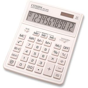 Калькулятор настольный  SDC-444XRWHE Citizen. Цвет: weiß/beige