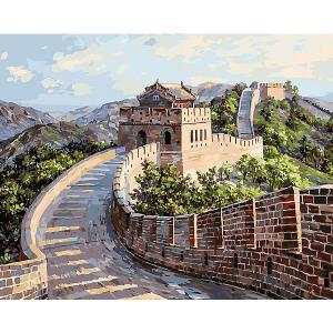 Картина по номерам  Великая Китайская стена Белоснежка