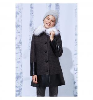 Пальто , цвет: серый Смена