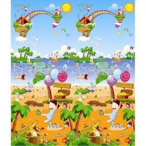 Игровой коврик  Морская прогулка 180х150х1 см BabyPol