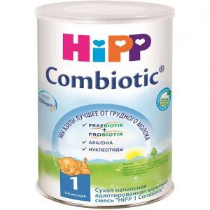 Молочная смесь  Combiotik 1 0-6 месяцев, 800 г Hipp
