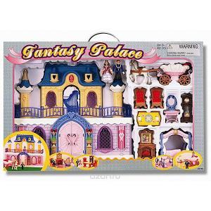 Игровой набор Keenwаy Fantasy Palace дворец с каретой и предметами Keenway