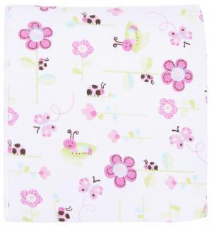 Пеленка 75 х см, цвет: розовый Bamboola