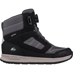 Утепленные Ботинки VIKING. Цвет: черный