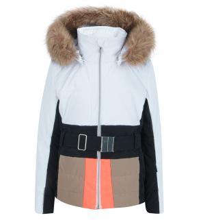 Куртка , цвет: белый/синий/бежевый Poivre Blanc