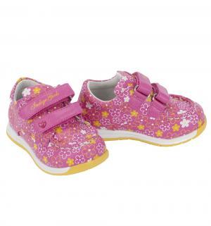 Полуботинки , цвет: розовый Indigo Kids