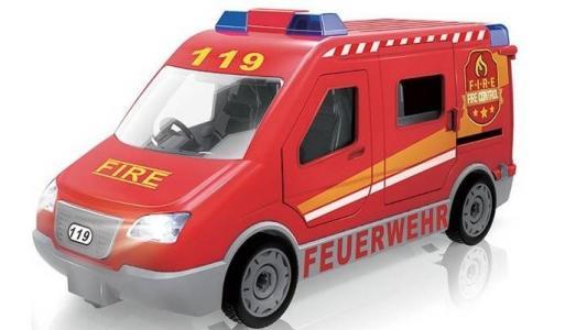 Машина конструктор Транспортная серия Пожарная Play Smart