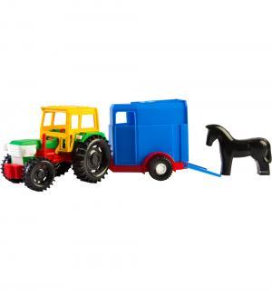 Трактор  с прицепом 36 см Wader